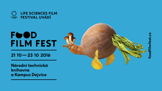 plakát Food Film Fest 2016