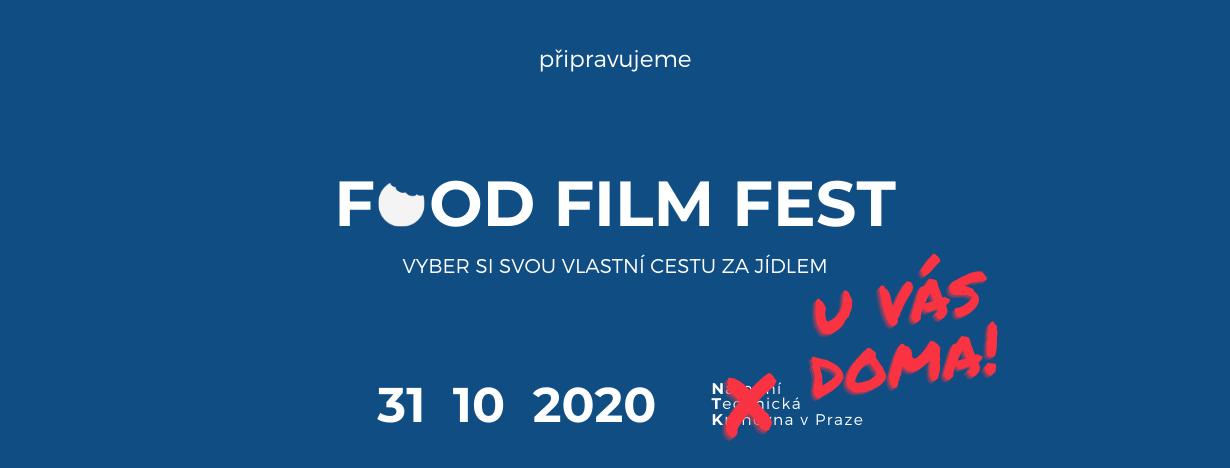 31. 10. 2020 Food Film Fest